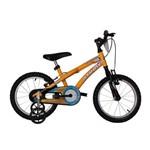 Bicicleta Athor Aro 16 Baby Boy Masculino Amarela