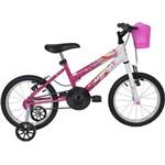 Bicicleta Athor Aro 16 Baby Girl Rosa
