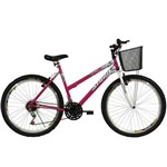 Bicicleta Athor Aro 26 18M Model Rosa Preto;Verde;Laranja Único