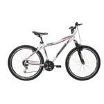Bicicleta Athor Aro 26 Titan Aluminio 18V 45MM T-18 Freio V Brake Branca C/ SUSPENSÃO