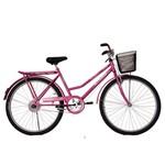 Bicicleta Athor Aro 26 Venus Freio Sueco C/ Cestão Rosa