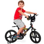 Bicicleta Batman Bandeirantes X Bike Aro 14 Preta