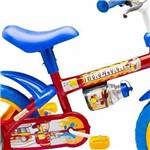Bicicleta Bike Nathor Fireman Aro 12 Infantil Menino