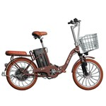 Bicicleta Blitz Elétrica Life Aro 20 Lítio 350w