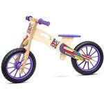 Bicicleta de Equilíbrio Coloridinha Sem Pedal Biciquetinha