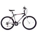 Bicicleta de Passeio Masculina Houston At262n Atlantis Mad Aro 26 Preta e Branca