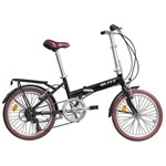 Bicicleta Dobrável Blitz Alloy 6v 2018 Preta