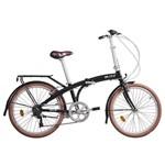 Bicicleta Dobrável Blitz Fit Aro 24 6v