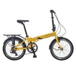 Bicicleta Dobravel Durban Bay Pro 7 Amarela