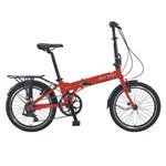 Bicicleta Dobravel Durban Bay Pro Vermelha
