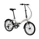 Bicicleta Dobrável Durban Rio Prata
