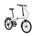 Bicicleta Dobravel Eco+ Branco - Durban