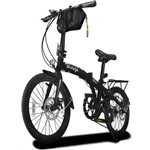 Bicicleta Dobrável Two Dogs Pliage Plus - Preto