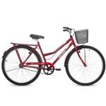 Bicicleta Eco Mormaii Aro 26 Valente Ff C/cesta C18 - 39-058