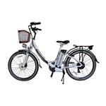 Bicicleta Elétrica Alumínio e Lítio 6V Aro 26 July