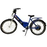 Bicicleta Elétrica Confort FULL 800W 48V 15Ah Cor Azul