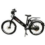 Bicicleta Elétrica Confort FULL 800W 48V 15Ah Cor Preta