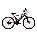 Bicicleta Elétrica Machine Motors Basic Lithium 350W 36V Vermelho