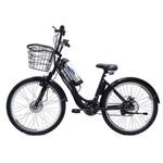 Bicicleta Elétrica Machine Motors Deluxe Lithium 350W 36V Preta