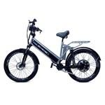 Bicicleta Elétrica Machine Motors New Premium 800W 48v Prata/preto