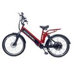 Bicicleta Elétrica Machine Motors New Premium 800W 48V Vermelho/Preto