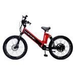 Bicicleta Elétrica Premium 800w 48v Vermelho/preto