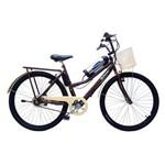Bicicleta Elétrica Retrô Lithium 350w 36v Marrom