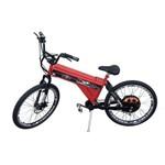 Bicicleta Elétrica Scooter Brasil 850W Sport MTB Vermelha (Sem Farol e Alarme)