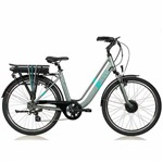 Bicicleta Elétrica SENSE Breeze S220E S220E Cinza e Azul