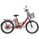 Bicicleta Elétrica TKX City Plus Aro 24 350W Vermelha - Track Bikes