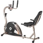 Bicicleta Ergométrica Horizontal Mormaii DROP 5000H Regulagem Magnética