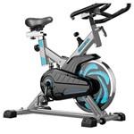 Bicicleta Ergometrica Spinning Tp1000 Prata 120kg