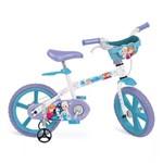 Bicicleta Frozen Aro 14 com Cestinha - Bandeirante