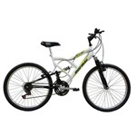 Bicicleta Full FA240 18V Aro 24 Branco 18 Marchas - Mormaii