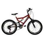Bicicleta Full FA240 6V Aro 20 Vermelho - Mormaii