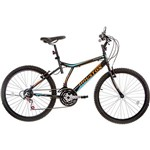 Bicicleta Houston Atlantis Land Aro 24 21 Marchas Preta