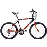 Bicicleta Houston Atlantis Mad Aro 26 21 Marchas Preto Cadillac/Laranja Holanda
