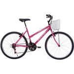 Bicicleta Houston Foxer Maori Aro 26 21 Marchas Rosa Pink