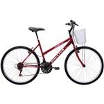 Bicicleta Houston Foxer Maori Aro 26 21 Marchas Vermelho