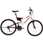 Bicicleta Houston Stinger Aro 26 - Branco e Preto