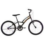 Bicicleta Houston Triton Aro 20, Preta