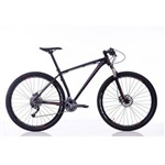 Bicicleta Impact Pro Aro 29 Freio Disco Hidráulico Câmbios Shimano Alivio 27 Veloc Preto - Sense