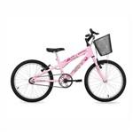Bicicleta Infantil Aro 20 New Bike Feminina Rebaixada Rosa - Rosa - Rebaixado