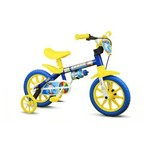 Bicicleta Infantil Aro 12 Azul Nathor