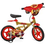 Bicicleta Infantil Aro 12 X-Bike Vingadores Iron Man 2418 - Bandeirante