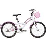Bicicleta Infantil Houston Excel Aro 20 Monovelocidade - Branca