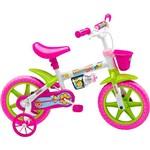 Bicicleta Infantil Nathor Feminina Honey Aro 12