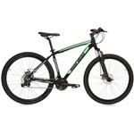 Bicicleta Mormaii Alumínio Aro 29 Venice Pró - Preto Brilhante / Verde