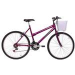 Bicicleta Mormaii Aro 26 Fantasy 21v C/ CestaVioleta - 2011899