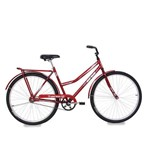 Bicicleta Mormaii Aro 26 Paradise Cp - Vermelho